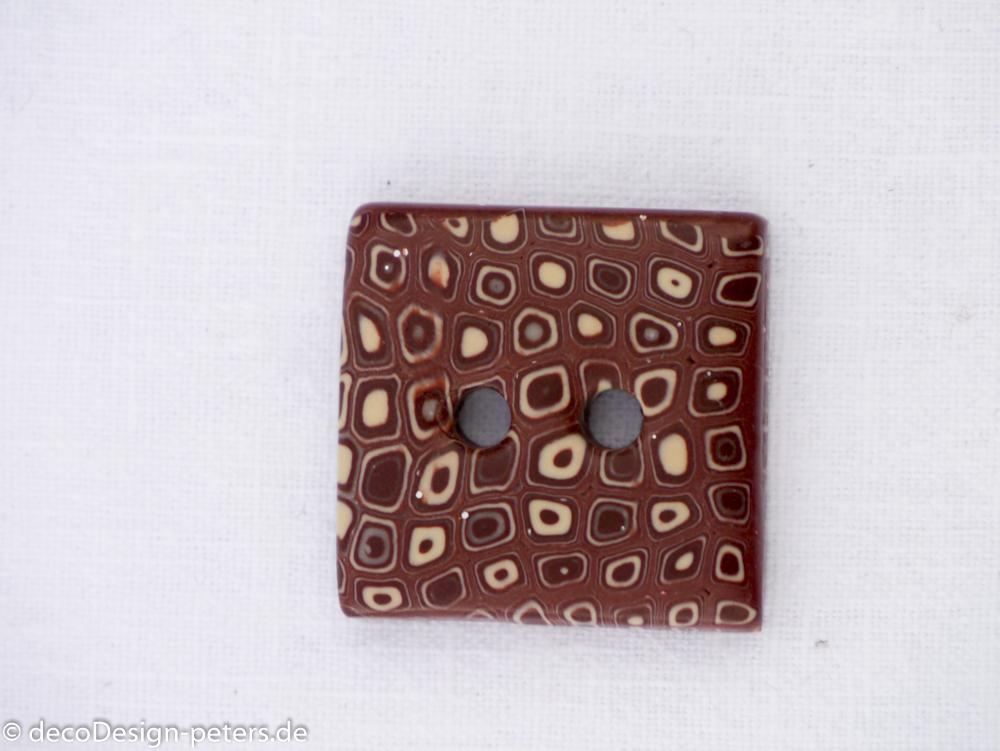 Knopf Brownie (c)decoDesign-peters.de