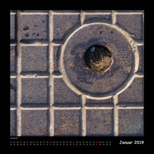 Kalender Quadraturen 2019 Januar (c)decoDesign-peters