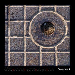 Kalender Quadraturen 2019 Januar (c)decoDesign-peters