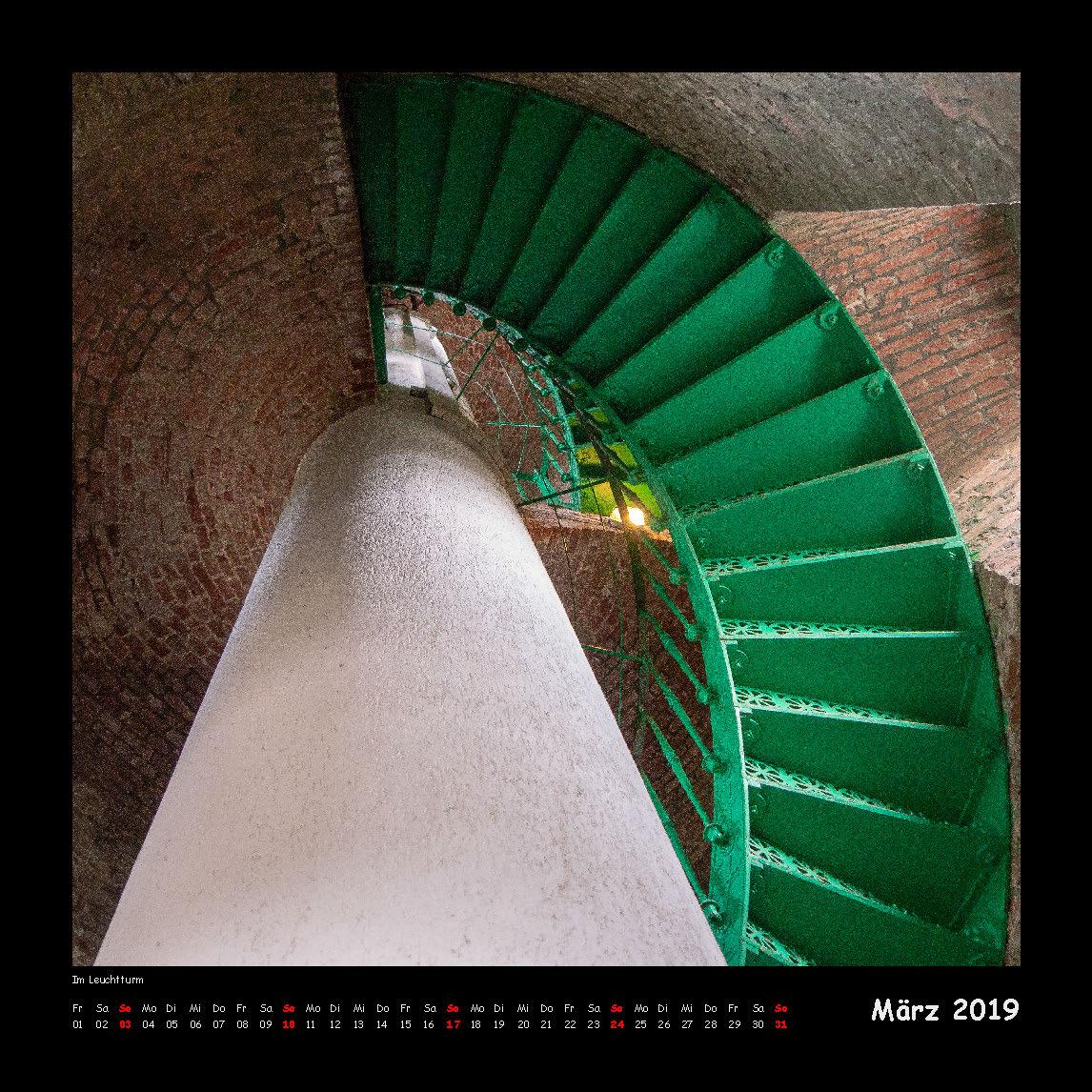 Kalender Quadraturen 2019 März (c)decoDesign-peters
