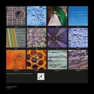 Kalender Quadraturen 2019 Impressum (c)decoDesign-peters