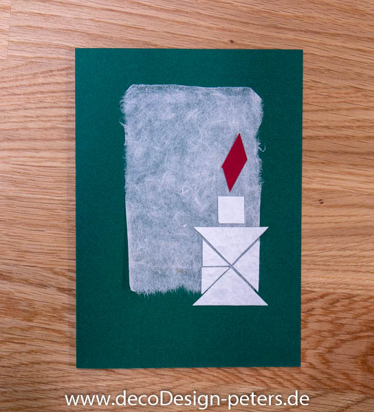 Weihnachtskarte mit Tangram (c)decoDesign-peters