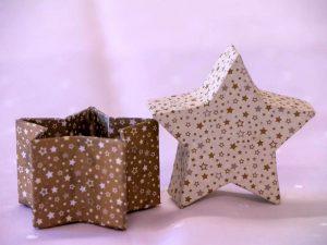Geschenkkarton Kleiner Stern (c)decoDesign-peters