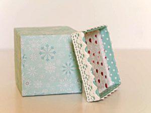 Geschenkkarton Schnee (c)decoDesign-peters