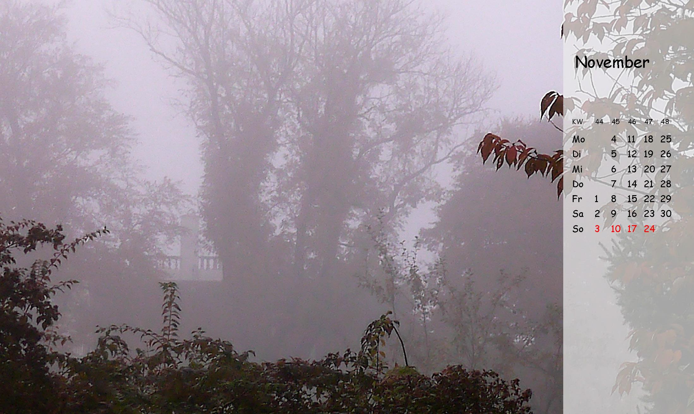 November - Kalender Villa Arborea 2019 (c)decoDesign-peters