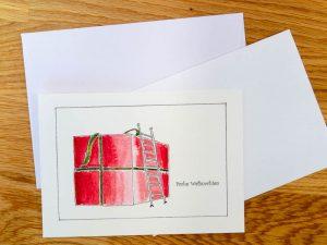 Weihnachtskarte Großartige Weihnachten (c) decoDesign-peters