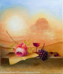 Cornelia Danz - Ölmalerei