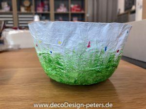 Behälter aus Pappmache bemalt (c)decoDesign-peters