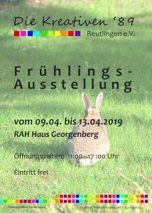 Plakat Unterm Georgenberg 2019