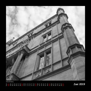 Kalender BlackAndWhite 2019 - Juni (c)decoDesign-peters