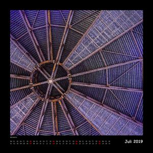 Kalender Quadraturen 2019 - Juli (c)decoDesign-peters