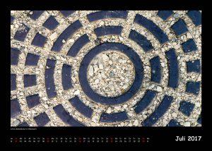 Kalender Außer der Reihe 2017 - Juli (c)decoDesign-peters.de
