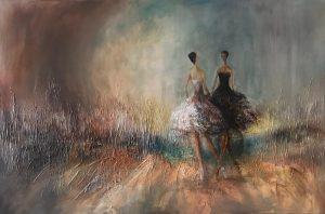 Bellerinen - Marina Borzi - Acryl
