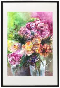 Licht und Duft I - Marina Boborzi - Acrylic Ink