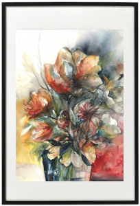 Licht und Duft II - Marina Boborzi - Acrylic Ink